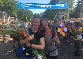 Vierdaagse Nijmegen finish