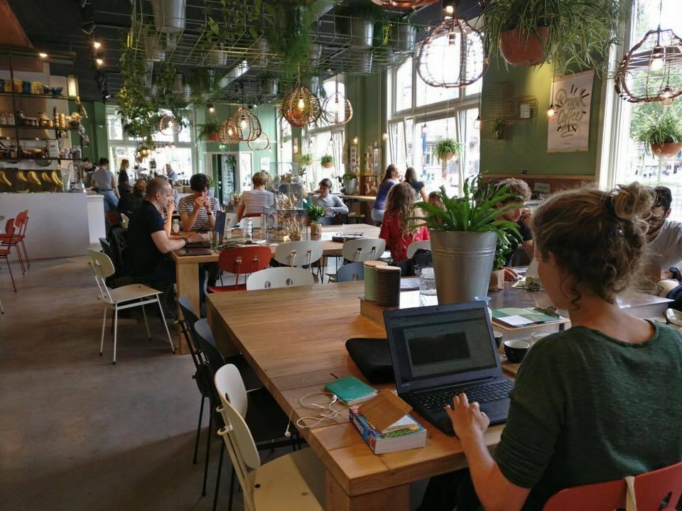 Flexwerkplek Coffeelab Den Bosch