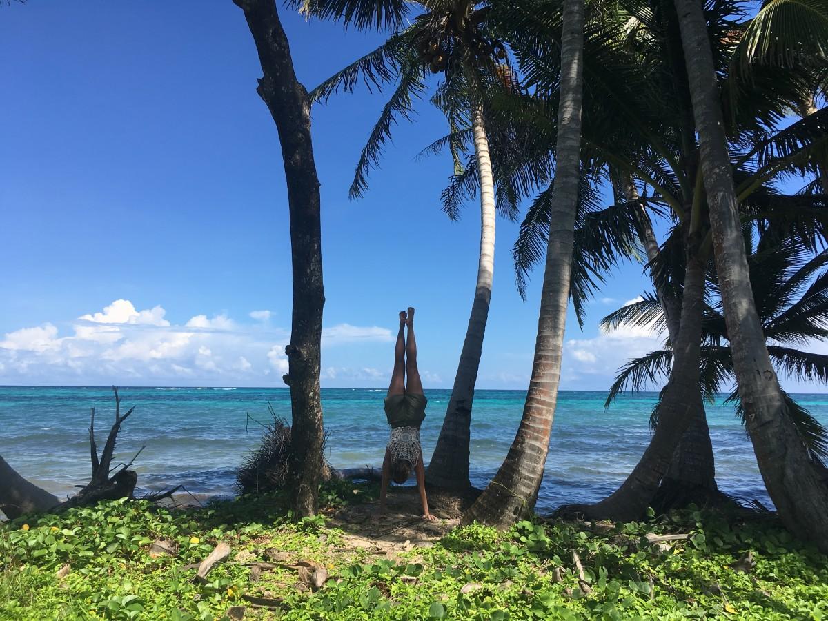 Nicaragua reisroute Little corn island