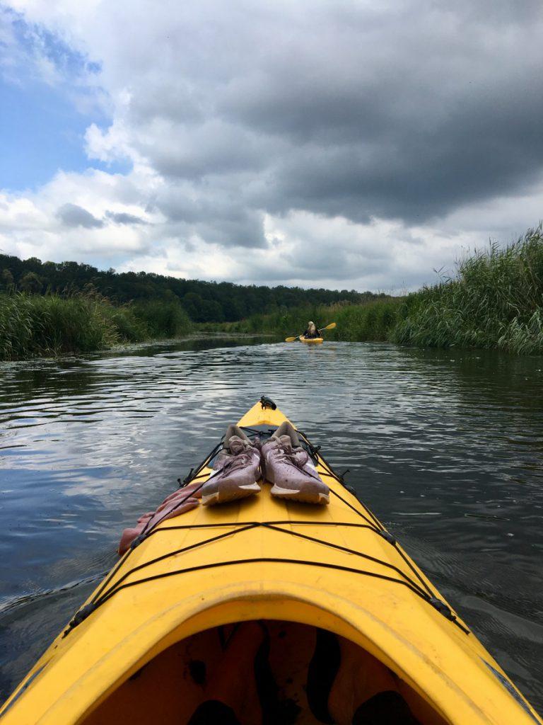 kayakken in zweden